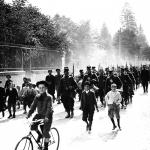 Les manœuvres 1910